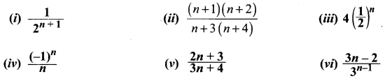 Samacheer Kalvi 11th Maths Solutions Chapter 5 Binomial Theorem, Sequences and Series Ex 5.2 1