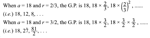 Samacheer Kalvi 11th Maths Solutions Chapter 5 Binomial Theorem, Sequences and Series Ex 5.2 27