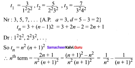 Samacheer Kalvi 11th Maths Solutions Chapter 5 Binomial Theorem, Sequences and Series Ex 5.2 29