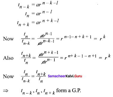 Samacheer Kalvi 11th Maths Solutions Chapter 5 Binomial Theorem, Sequences and Series Ex 5.2 30