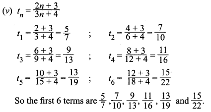 Samacheer Kalvi 11th Maths Solutions Chapter 5 Binomial Theorem, Sequences and Series Ex 5.2 6