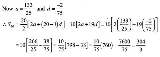 Samacheer Kalvi 11th Maths Solutions Chapter 5 Binomial Theorem, Sequences and Series Ex 5.3 2