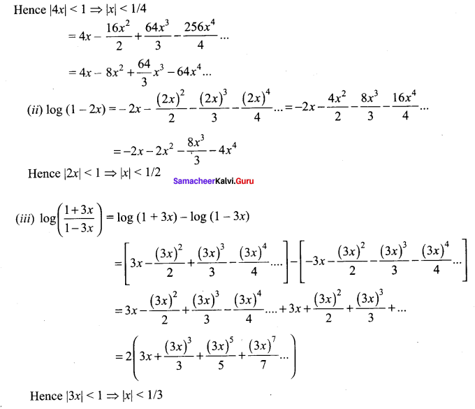 Samacheer Kalvi 11th Maths Solutions Chapter 5 Binomial Theorem, Sequences and Series Ex 5.4 12
