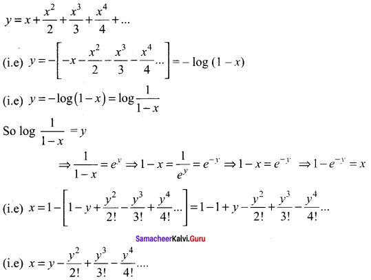 Samacheer Kalvi 11th Maths Solutions Chapter 5 Binomial Theorem, Sequences and Series Ex 5.4 18