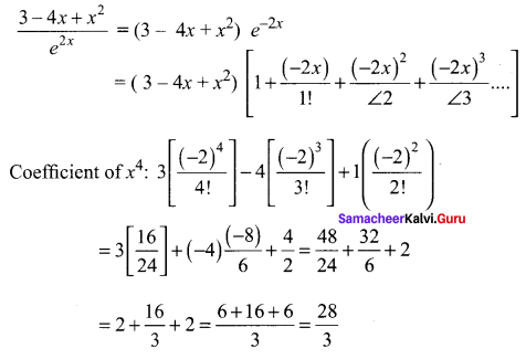 Samacheer Kalvi 11th Maths Solutions Chapter 5 Binomial Theorem, Sequences and Series Ex 5.4 22
