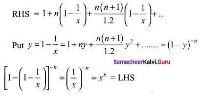 Samacheer Kalvi 11th Maths Solutions Chapter 5 Binomial Theorem, Sequences and Series Ex 5.4 36