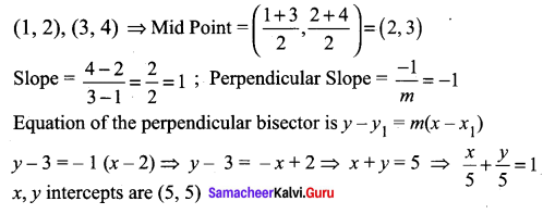 Samacheer Kalvi 11th Maths Solutions Chapter 6 Two Dimensional Analytical Geometry Ex 6.5 30