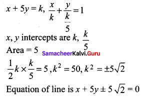 Samacheer Kalvi 11th Maths Solutions Chapter 6 Two Dimensional Analytical Geometry Ex 6.5 33