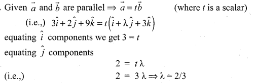 11 Samacheer Maths Solutions Chapter 8 Vector Algebra - I Ex 8.2
