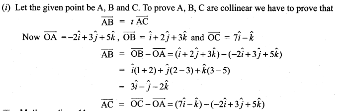 Samacheer Kalvi 11th Maths Solutions Chapter 8 Vector Algebra - I Ex 8.2 40