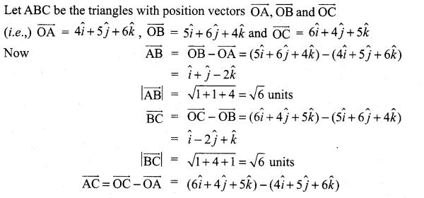 Samacheer Kalvi 11th Maths Solutions Chapter 8 Vector Algebra - I Ex 8.2 44