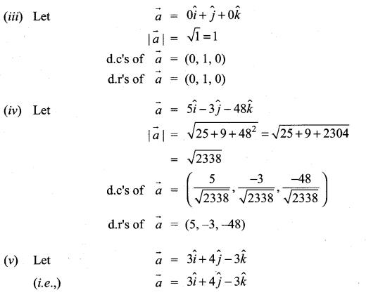 Class 11th Maths Exercise 8.2 Solution Chapter 8 Vector Algebra Samacheer Kalvi
