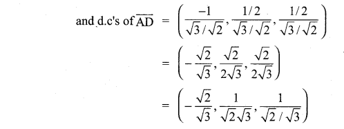 Samacheer Guru 11th Maths Solutions Chapter 8 Vector Algebra - I Ex 8.2