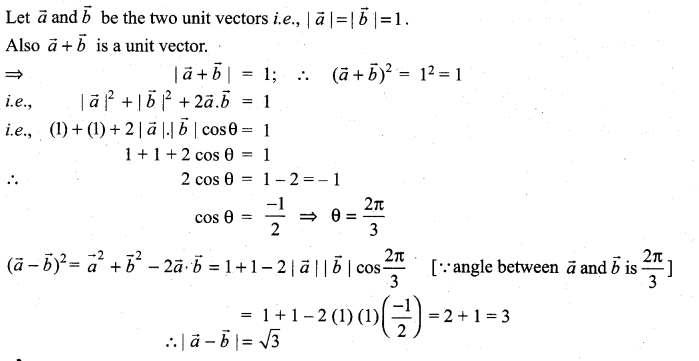 Samacheer Kalvi 11th Maths Solutions Chapter 8 Vector Algebra - I Ex 8.3 29