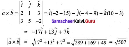 Samacheer Kalvi 11th Maths Solutions Chapter 8 Vector Algebra - I Ex 8.4 2