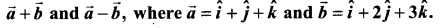 Samacheer Kalvi 11th Maths Solutions Chapter 8 Vector Algebra - I Ex 8.4 7