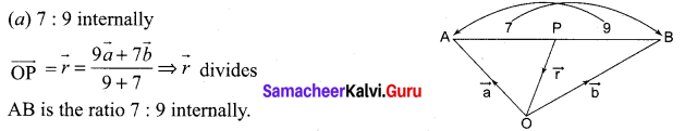 Samacheer Kalvi 11th Maths Solutions Chapter 8 Vector Algebra - I Ex 8.5 17