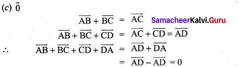 Samacheer Kalvi 11th Maths Solutions Chapter 8 Vector Algebra - I Ex 8.5 2