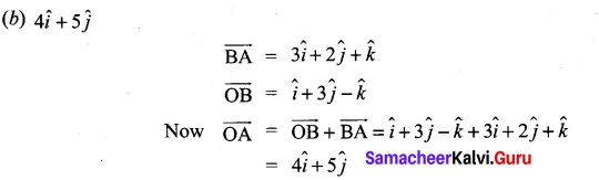 Samacheer Kalvi 11th Maths Solutions Chapter 8 Vector Algebra - I Ex 8.5 7