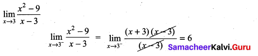 Samacheer Kalvi 11th Maths Solutions Chapter 9 Limits and Continuity Ex 9.1 35