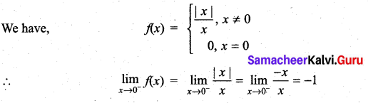 Samacheer Kalvi 11th Maths Solutions Chapter 9 Limits and Continuity Ex 9.1 46