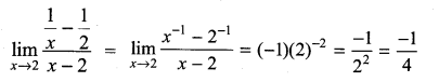 Samacheer Kalvi 11th Maths Solutions Chapter 9 Limits and Continuity Ex 9.2 12
