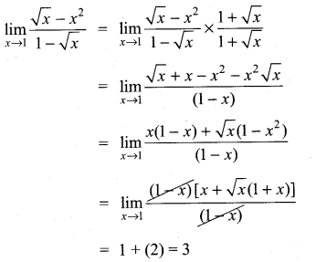 Samacheer Kalvi 11th Maths Solutions Chapter 9 Limits and Continuity Ex 9.2 14