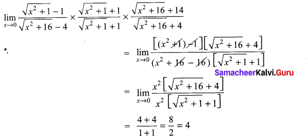 Samacheer Kalvi 11th Maths Solutions Chapter 9 Limits and Continuity Ex 9.2 16