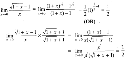 Samacheer Kalvi 11th Maths Solutions Chapter 9 Limits and Continuity Ex 9.2 18