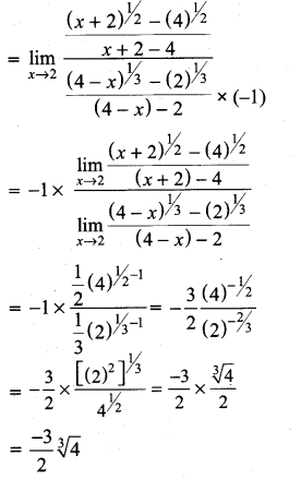 Samacheer Kalvi 11th Maths Solutions Chapter 9 Limits and Continuity Ex 9.2 23
