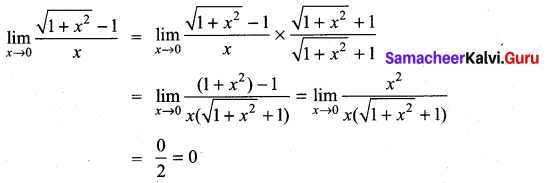 Samacheer Kalvi 11th Maths Solutions Chapter 9 Limits and Continuity Ex 9.2 25