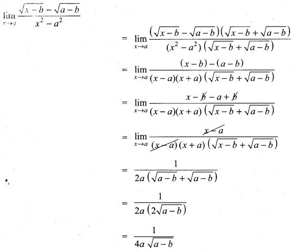 Samacheer Kalvi 11th Maths Solutions Chapter 9 Limits and Continuity Ex 9.2 32