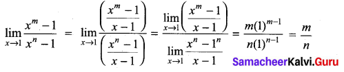 Samacheer Kalvi 11th Maths Solutions Chapter 9 Limits and Continuity Ex 9.2 4