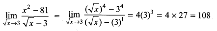 Samacheer Kalvi 11th Maths Solutions Chapter 9 Limits and Continuity Ex 9.2 6