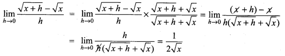 Samacheer Kalvi 11th Maths Solutions Chapter 9 Limits and Continuity Ex 9.2 8