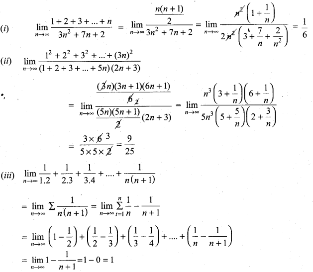 Samacheer Kalvi 11th Maths Solutions Chapter 9 Limits and Continuity Ex 9.3 17