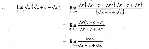 Samacheer Kalvi 11th Maths Solutions Chapter 9 Limits and Continuity Ex 9.3 21