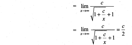 Samacheer Kalvi 11th Maths Solutions Chapter 9 Limits and Continuity Ex 9.3 22