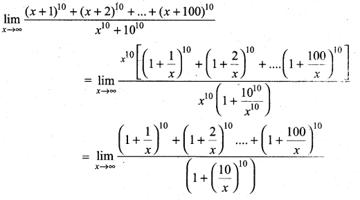 Samacheer Kalvi 11th Maths Solutions Chapter 9 Limits and Continuity Ex 9.3 32