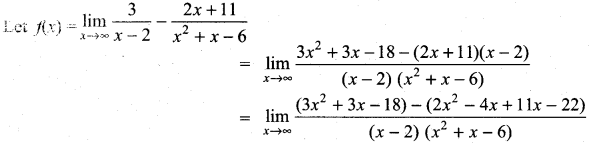 Samacheer Kalvi 11th Maths Solutions Chapter 9 Limits and Continuity Ex 9.3 5