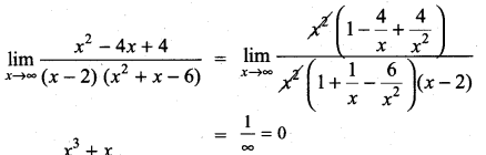 Samacheer Kalvi 11th Maths Solutions Chapter 9 Limits and Continuity Ex 9.3 6