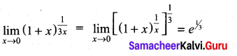 Samacheer Kalvi 11th Maths Solutions Chapter 9 Limits and Continuity Ex 9.4 4