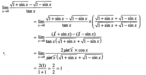 Samacheer Kalvi 11th Maths Solutions Chapter 9 Limits and Continuity Ex 9.4 49