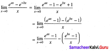 Samacheer Kalvi 11th Maths Solutions Chapter 9 Limits and Continuity Ex 9.4 56