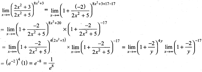 Samacheer Kalvi 11th Maths Solutions Chapter 9 Limits and Continuity Ex 9.4 8