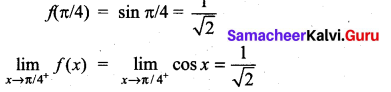 Samacheer Kalvi 11th Maths Solutions Chapter 9 Limits and Continuity Ex 9.5 10