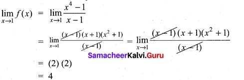 Samacheer Kalvi 11th Maths Solutions Chapter 9 Limits and Continuity Ex 9.5 18