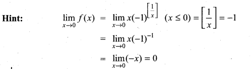 Samacheer Kalvi 11th Maths Solutions Chapter 9 Limits and Continuity Ex 9.6 18