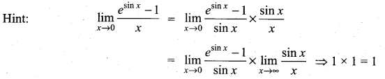 Samacheer Kalvi 11th Maths Solutions Chapter 9 Limits and Continuity Ex 9.6 35