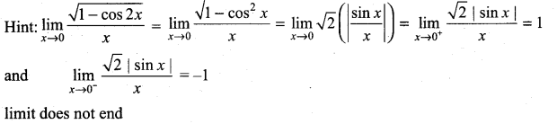 Samacheer Kalvi 11th Maths Solutions Chapter 9 Limits and Continuity Ex 9.6 6